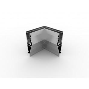 SB-A1 Coin intérieur compléter apparence inox (2 parties)