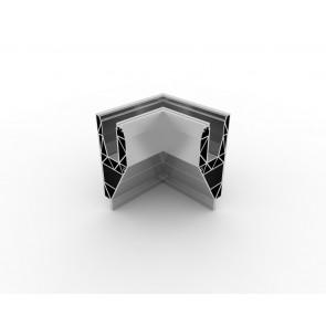 SB-A2 Coin intérieur compléter apparence inox (2 parties)