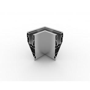 SB-A2 Coin extérieur compléter apparence inox (2 parties)