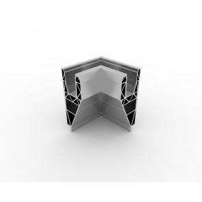 SB-A3 Coin intérieur compléter apparence inox (2 parties)