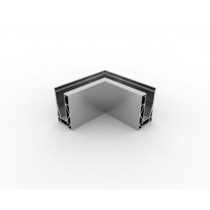SB-O1S Coin intérieur compléter apparence inox (2 parties)